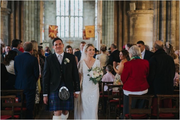 Elegant Stirling wedding at Church of the Holy Rude & Cowanes Hospital - Pamela & Johnnie