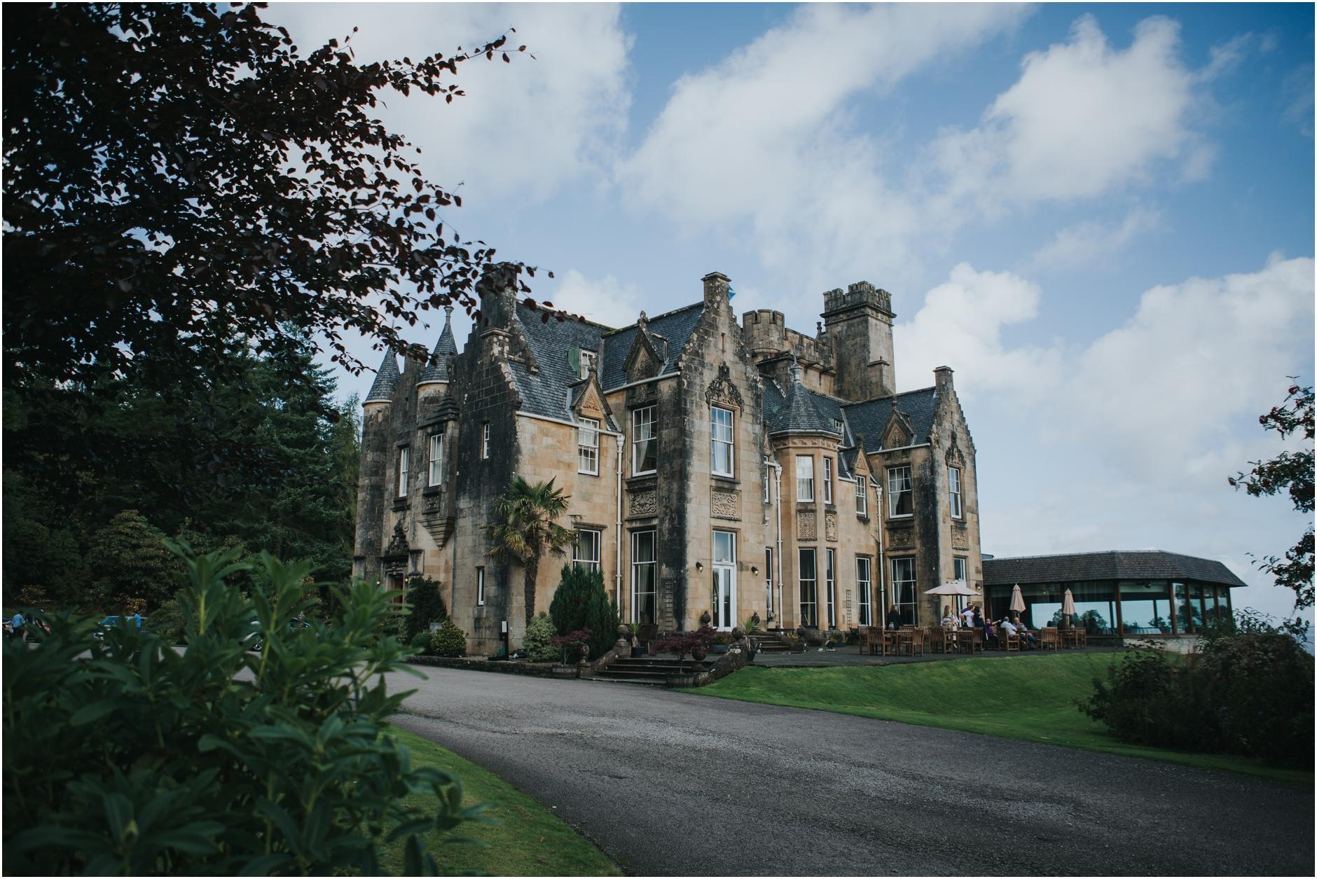 scotland castle wedidng stonefield castle loch fyne tarbert