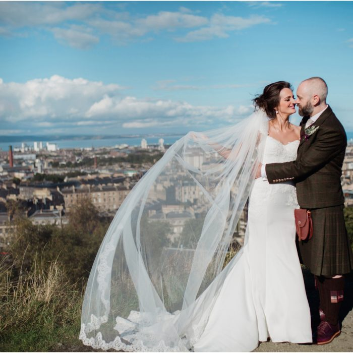 Relaxed wedding at Howies, Edinburgh - Karen & David