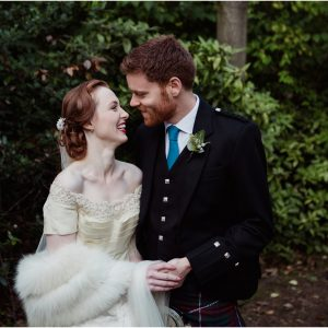 Stunning vintage wedding at Canongate Kirk and Royal College of Physicians, Edinburgh - Jess & Neil
