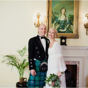 Scottish elopement at Melville Castle, Edinburgh - Amy & Jason