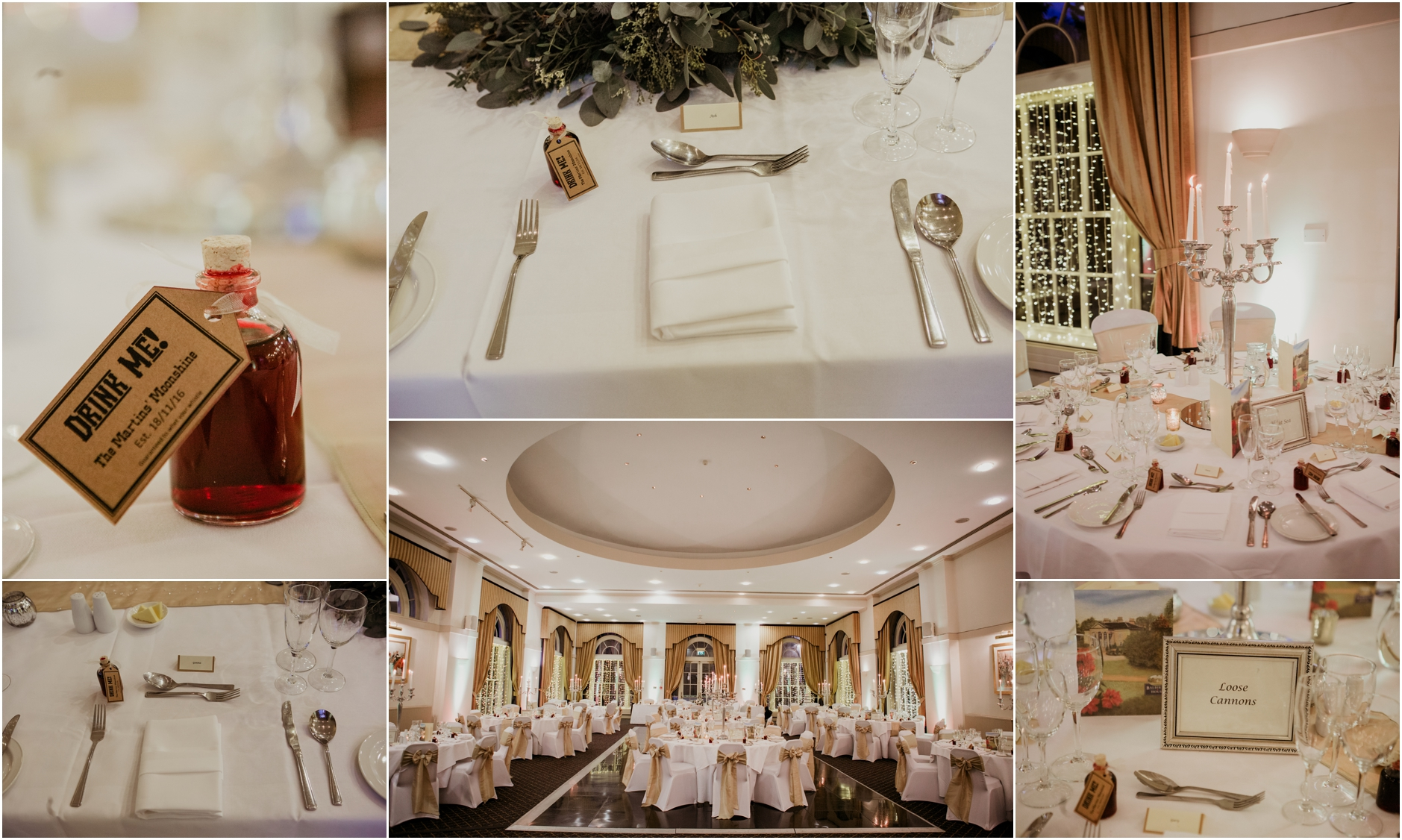 winter wedding at balbirnie house hotel