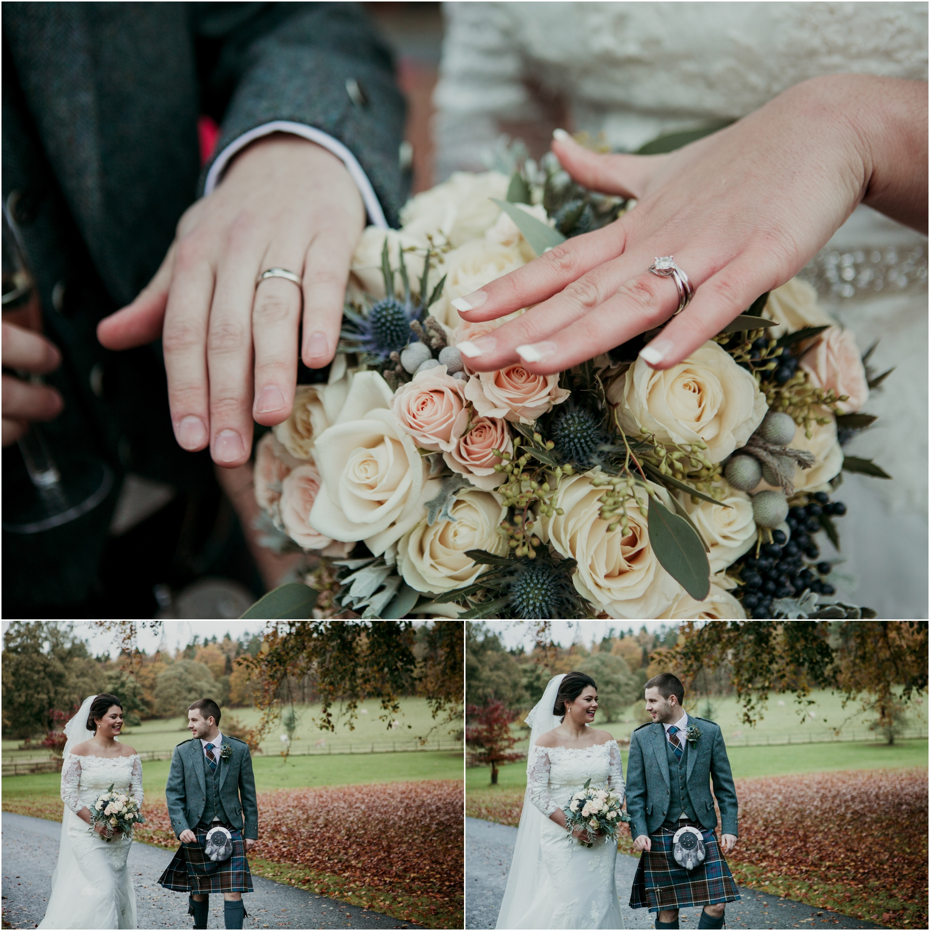 Scottish Winter Wedding At Castle Fraser Aberdeenshire