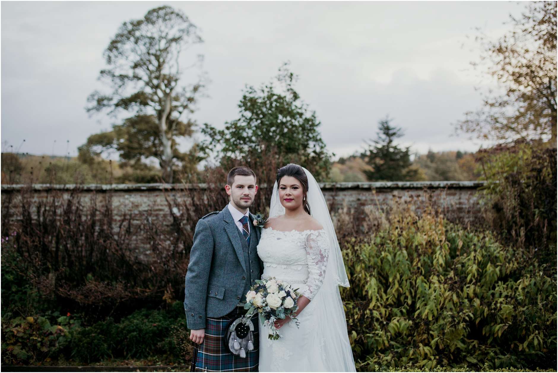Winter garden aberdeen wedding