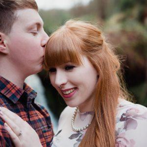 Maspie Den Falkland Engagement shoot - Amanda & Gavin