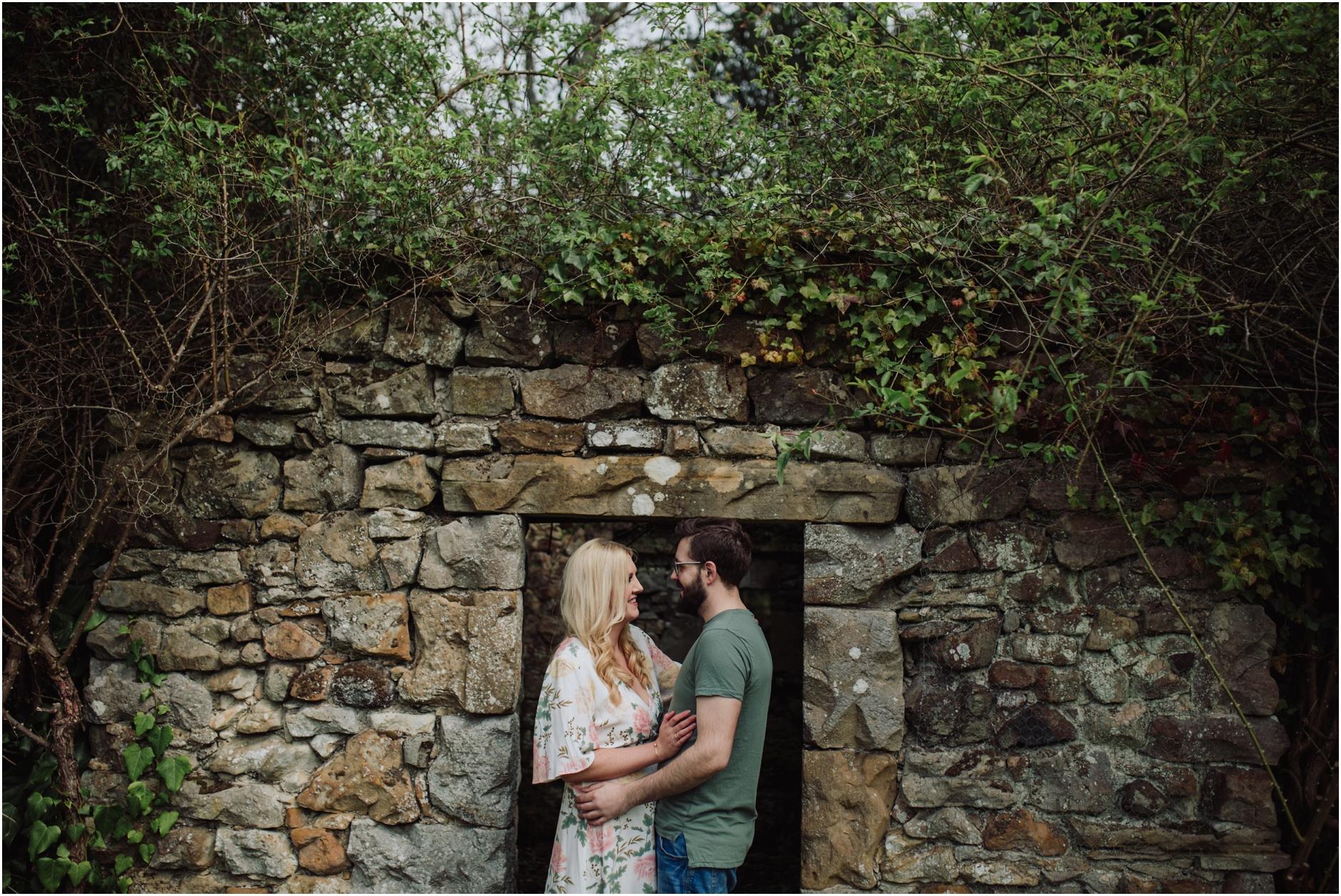 kirknewton stables and pentlands pre wedding shoot