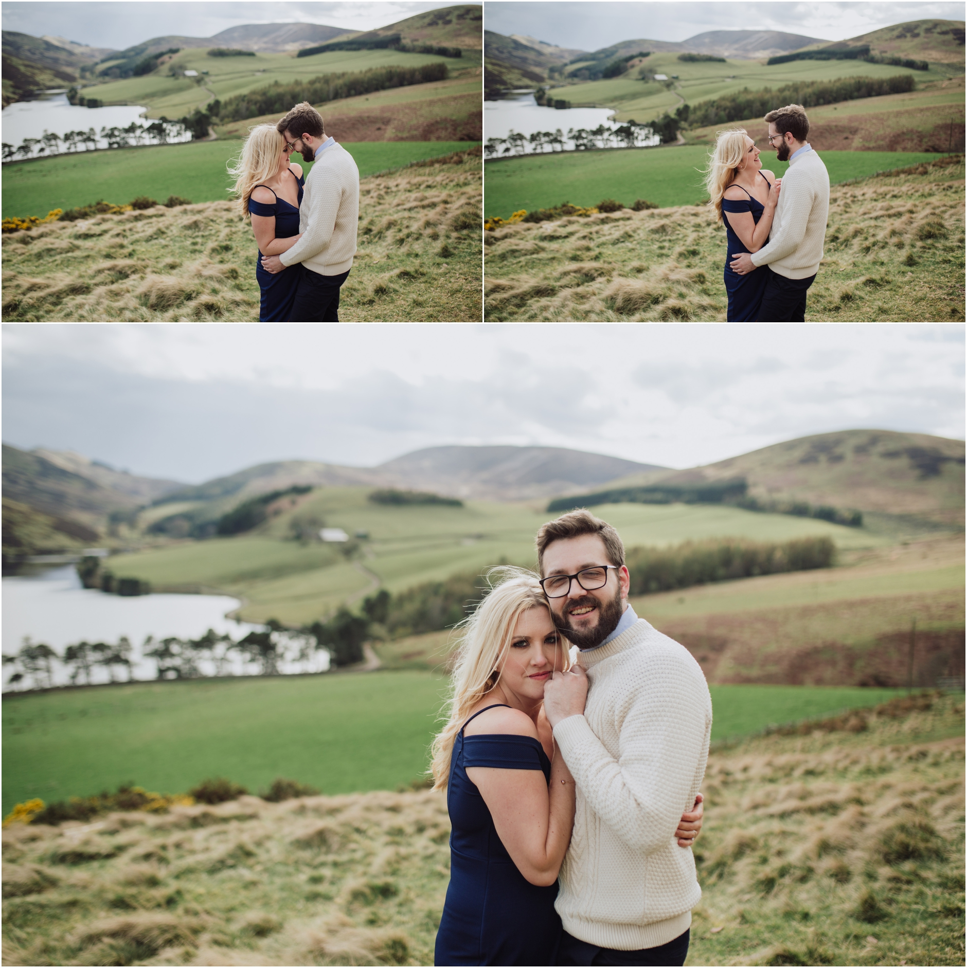 kirknewton stables and pentlands pre wedding shoot