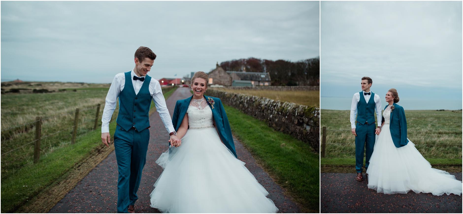 A winter barn wedding at Kinkell Byre – Charlotte & Craig | Natural ...