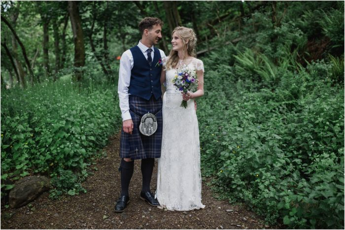 Fun filled rustic barn wedding at Comrie Croft - Fiona & Robert