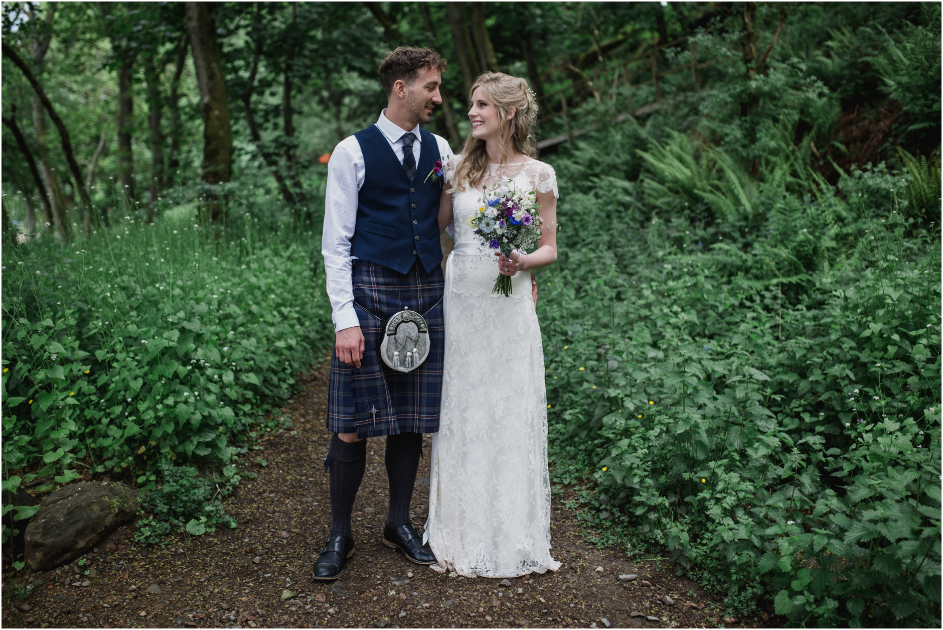 comrie croft barn wedding scotland
