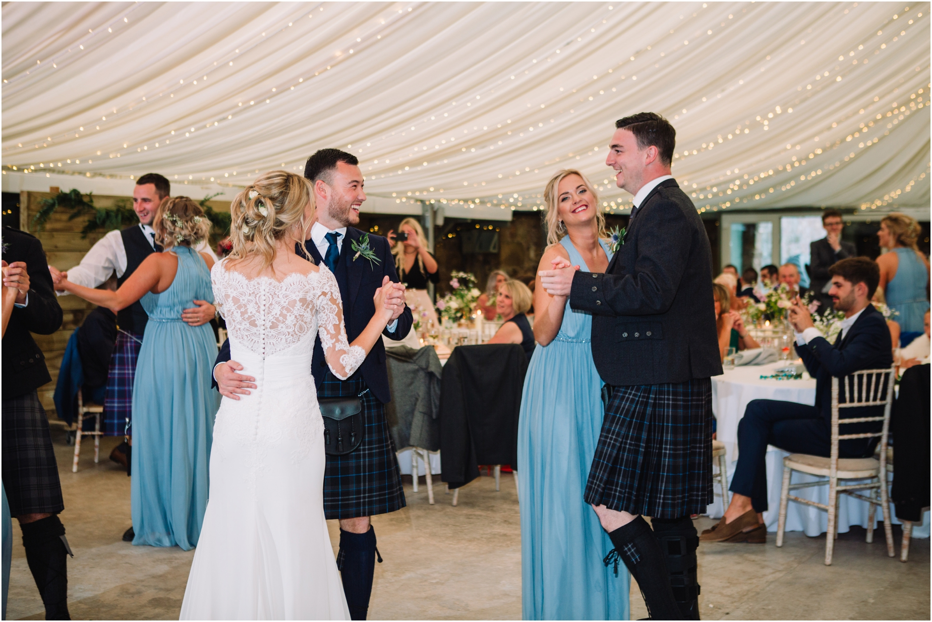 cowshed crail rustic barn wedding scotland