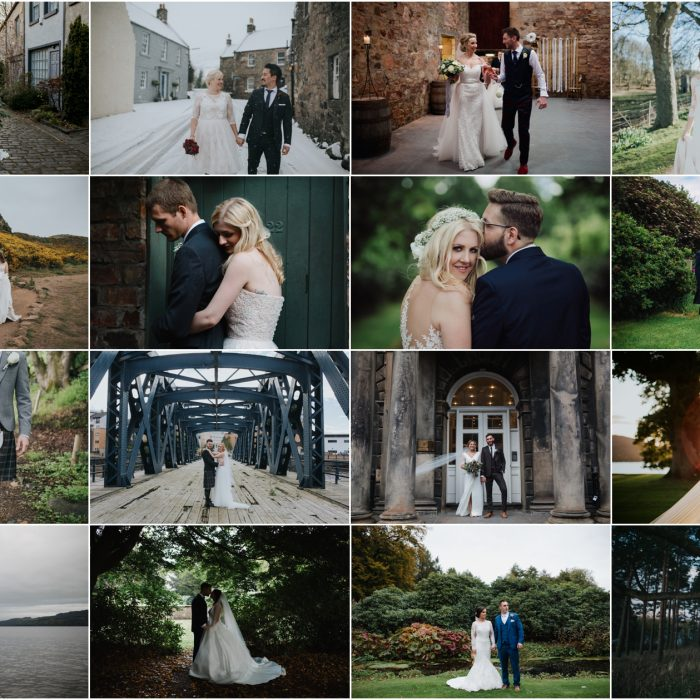 Edinburgh Wedding Photographer - Best of 2017