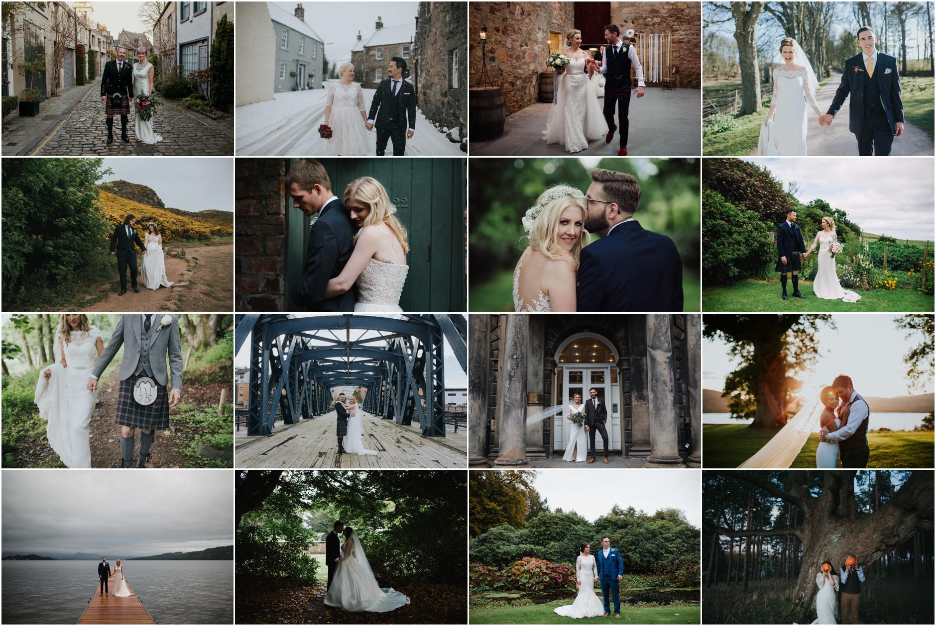 edinburgh wedding photographer best of
