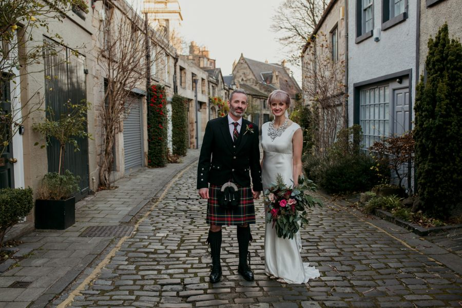 edinburgh wedding vintage natural stockbridge georgian house