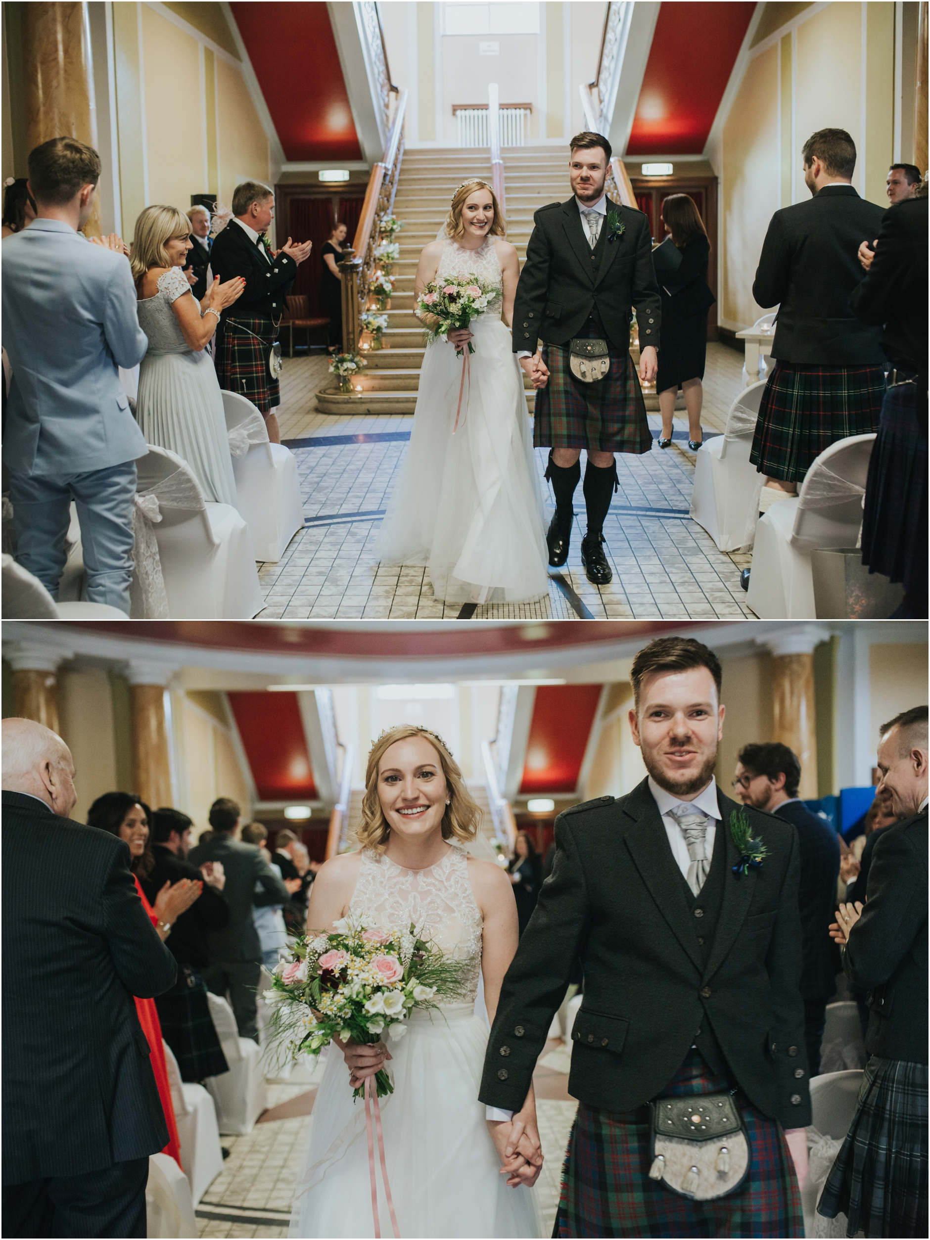 wedding celebration at thomas morton hall edinburgh leith theatre