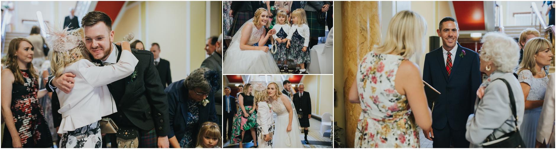 wedding celebration at thomas morton hall edinburgh leith theatre