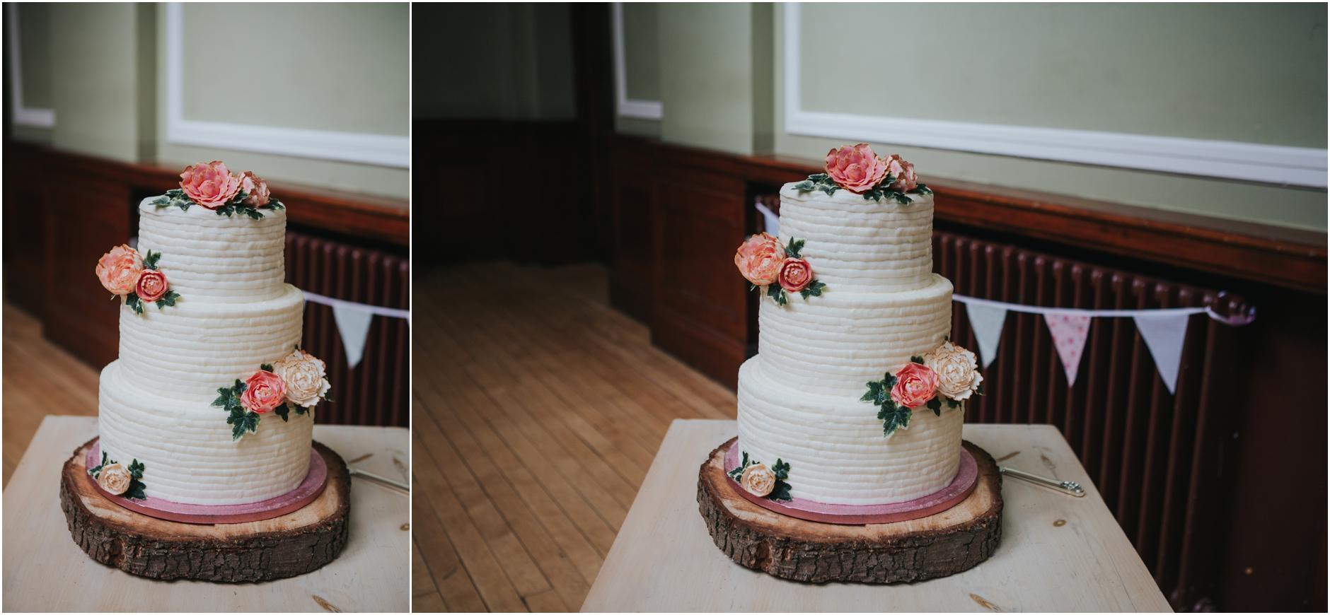 wedding cake thomas morton hall edinburgh