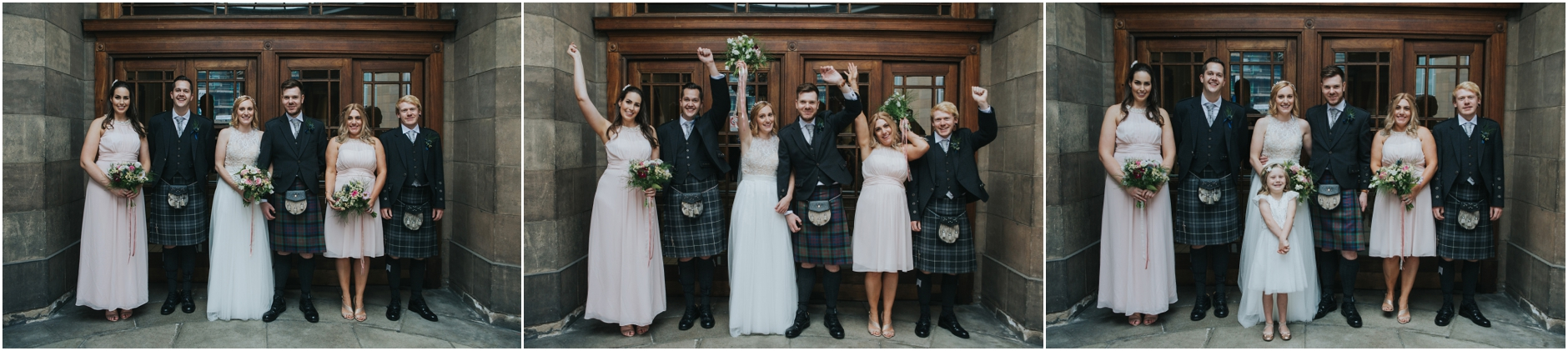 wedding portraits thomas morton hall leith theatre edinburgh