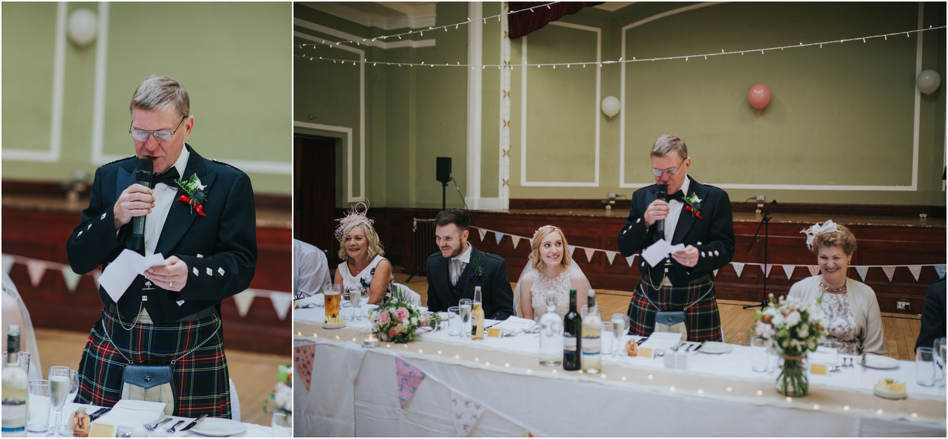 wedding speech thomas morton hall edinburgh