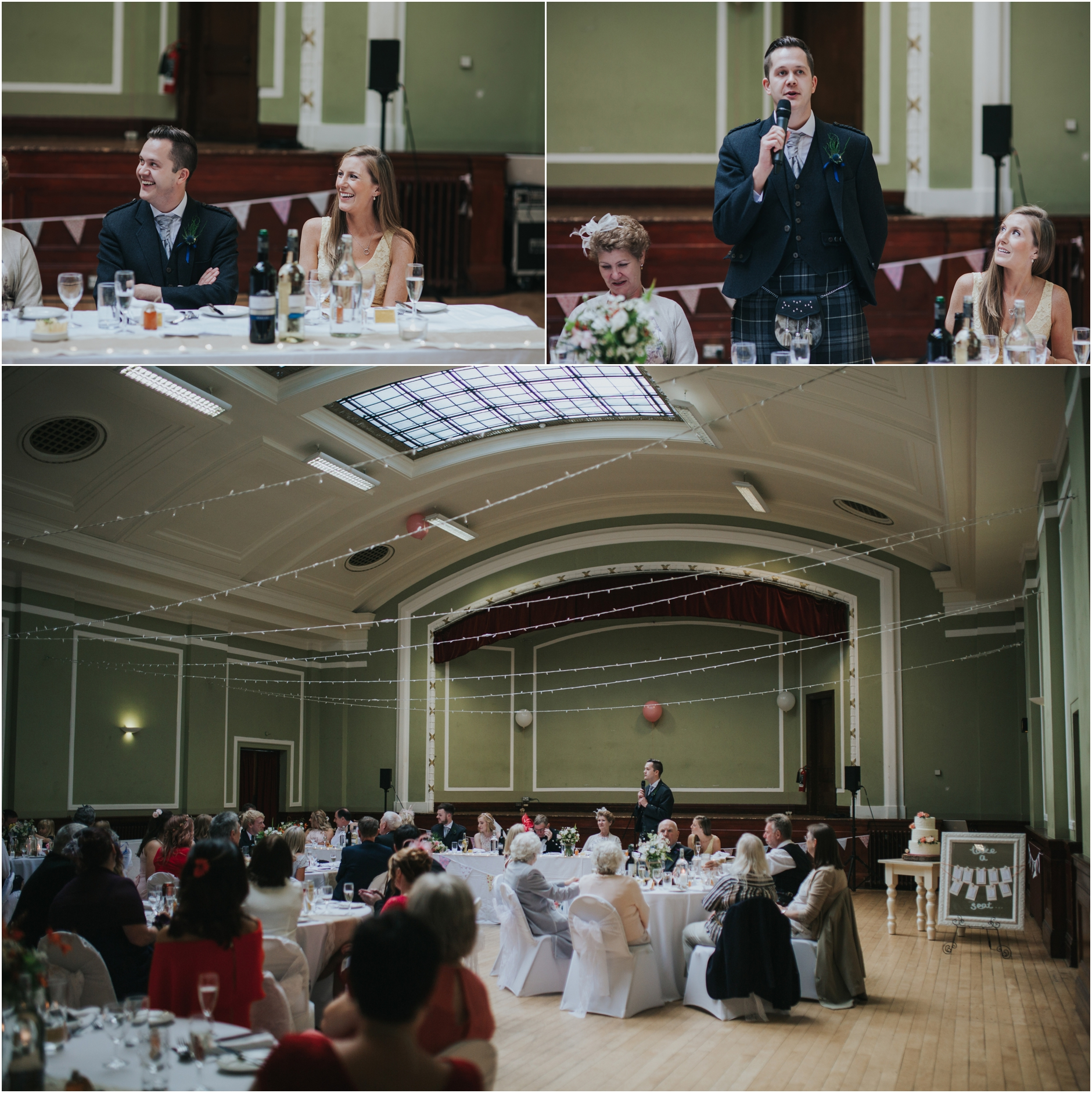 wedding speeches leith theatre thomas morton hall edinburgh