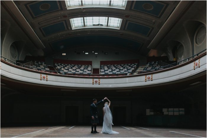 Vintage inspired wedding at Thomas Morton Hall, Edinburgh - Vicky & Neale