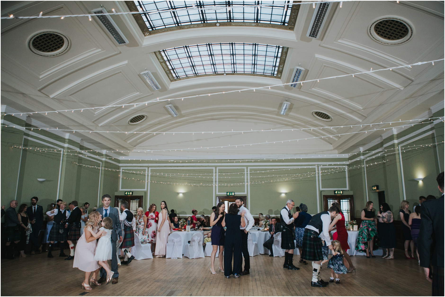 wedding thomas morton hall leith scotland