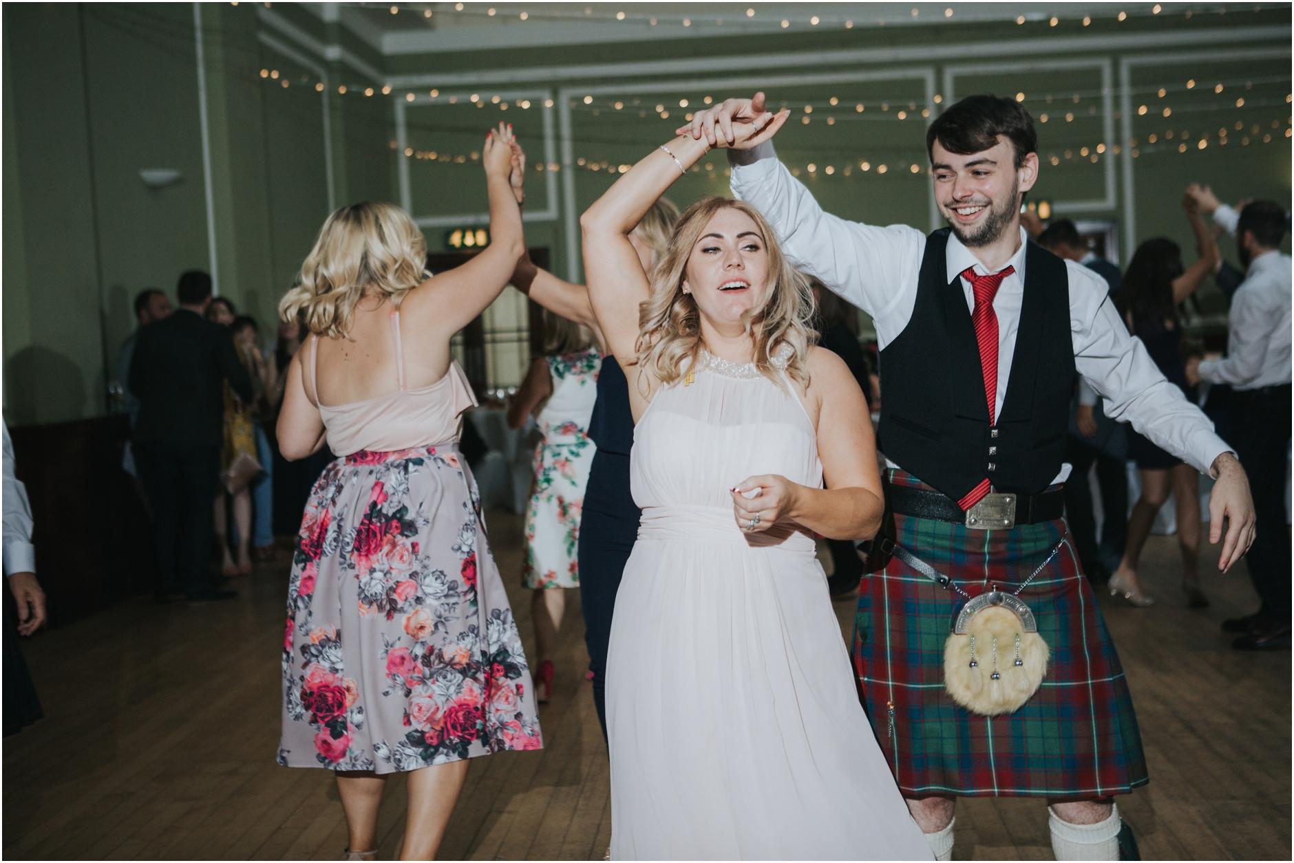 ceilidh wedding thomas morton hall edinburgh