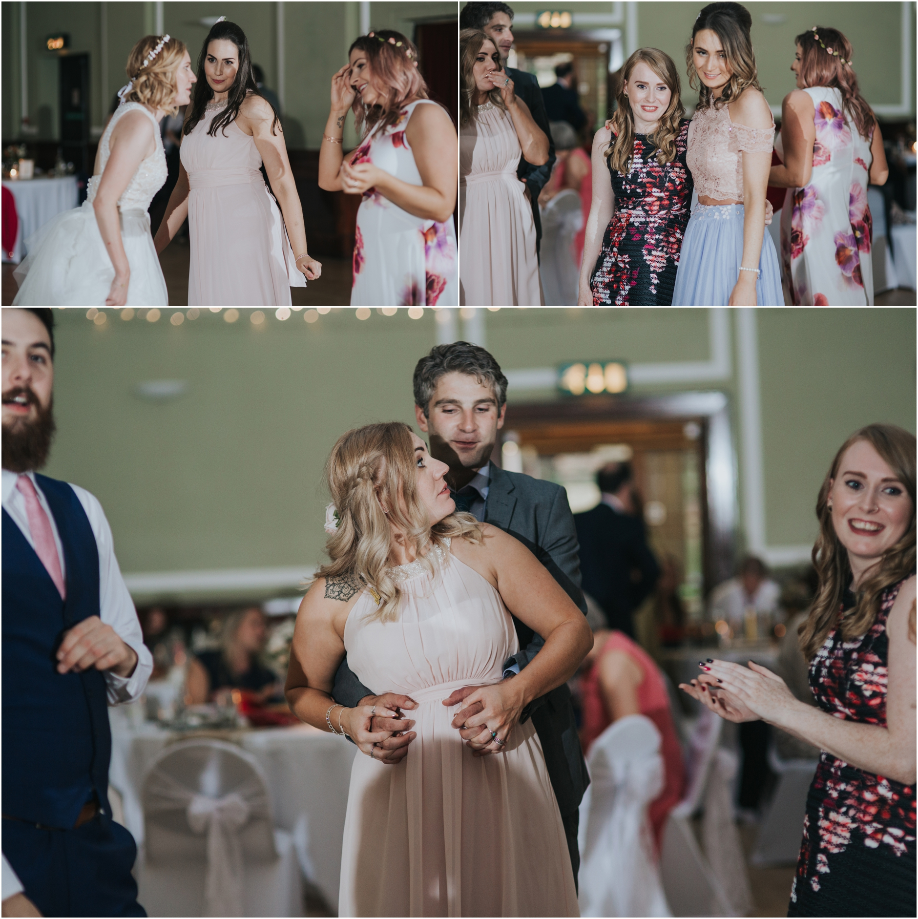 wedding reception thomas morton hall alternative wedding photographer