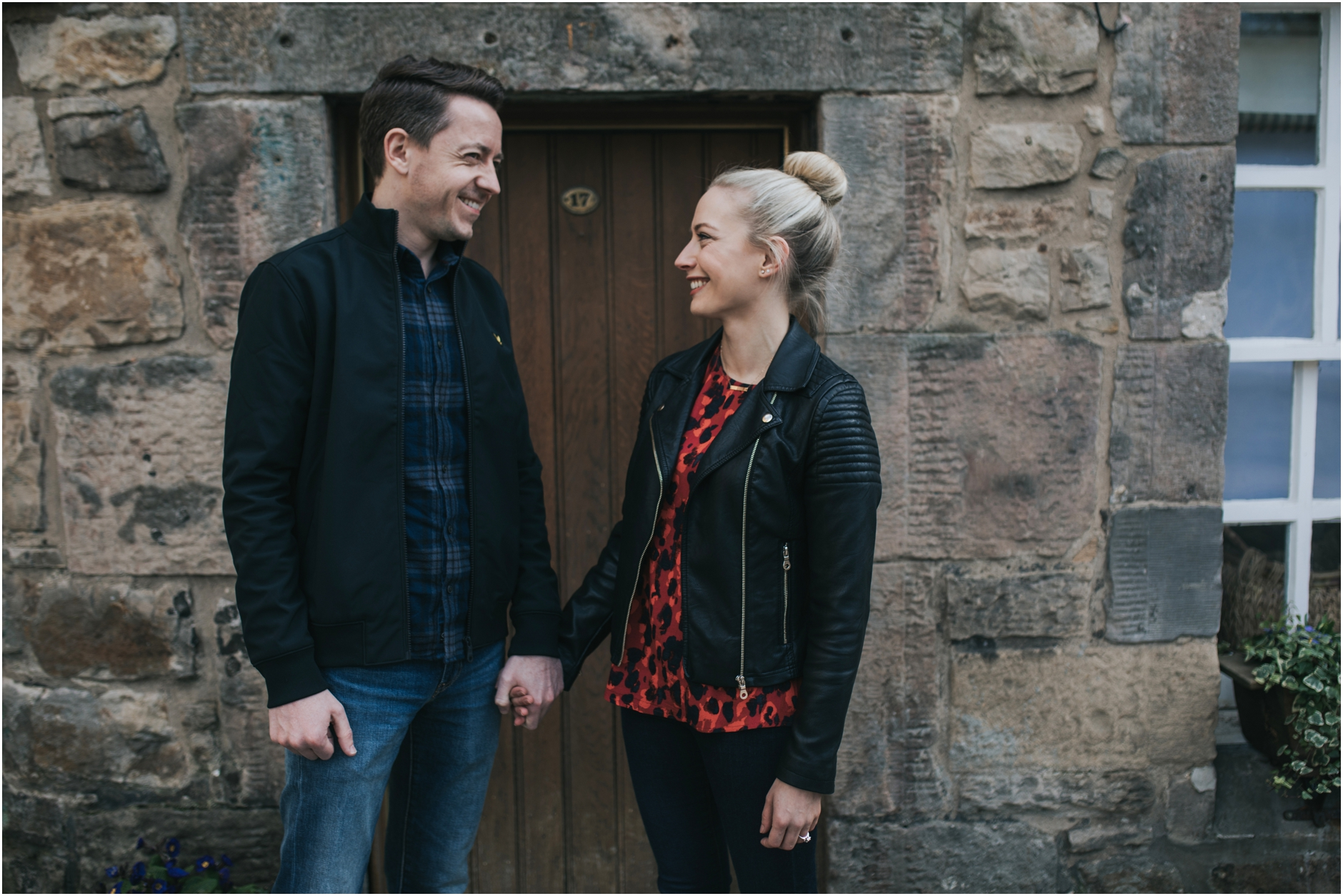 engagement photoshoot in edinburgh