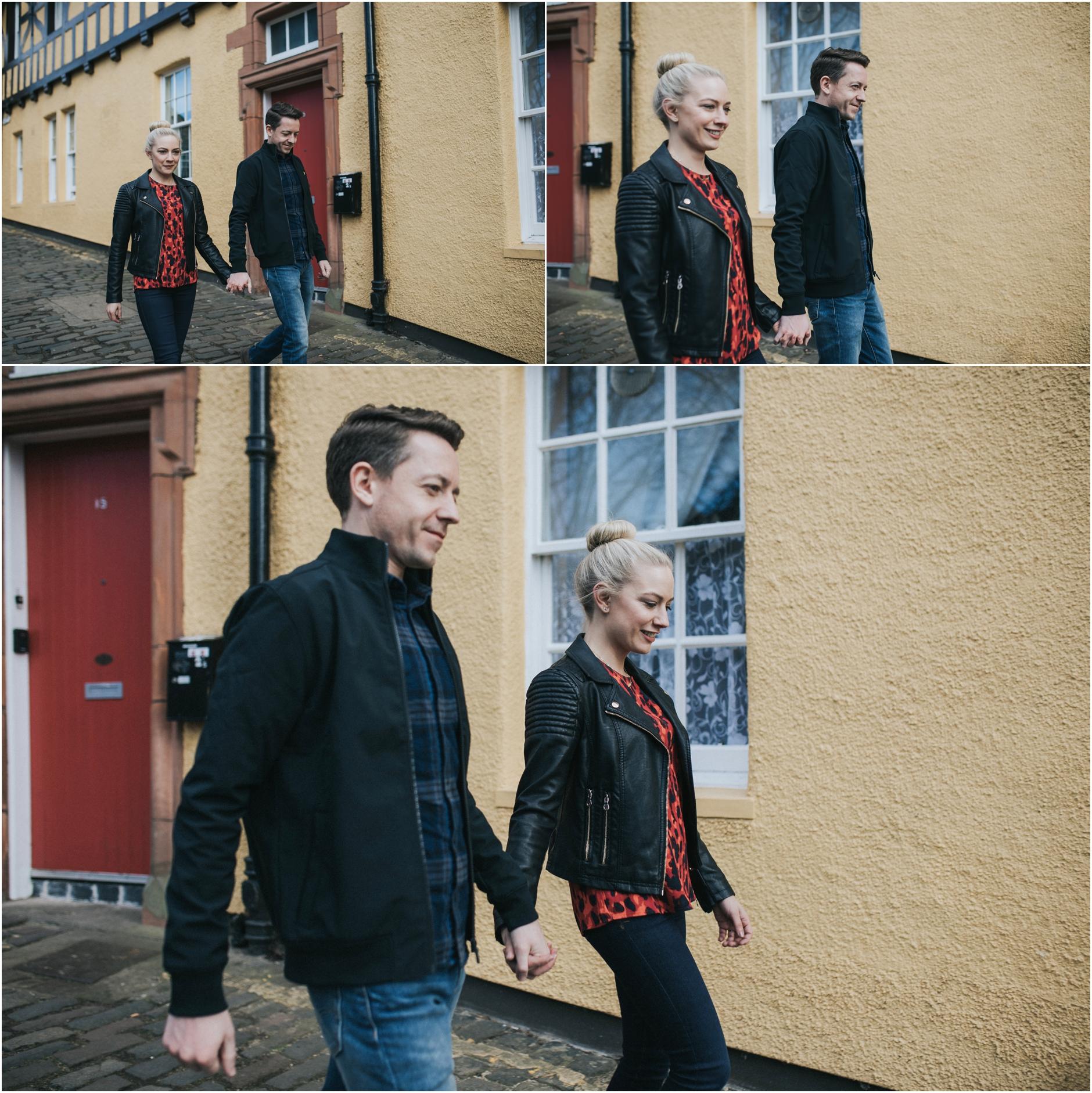 engagement photoshoot in edinburgh