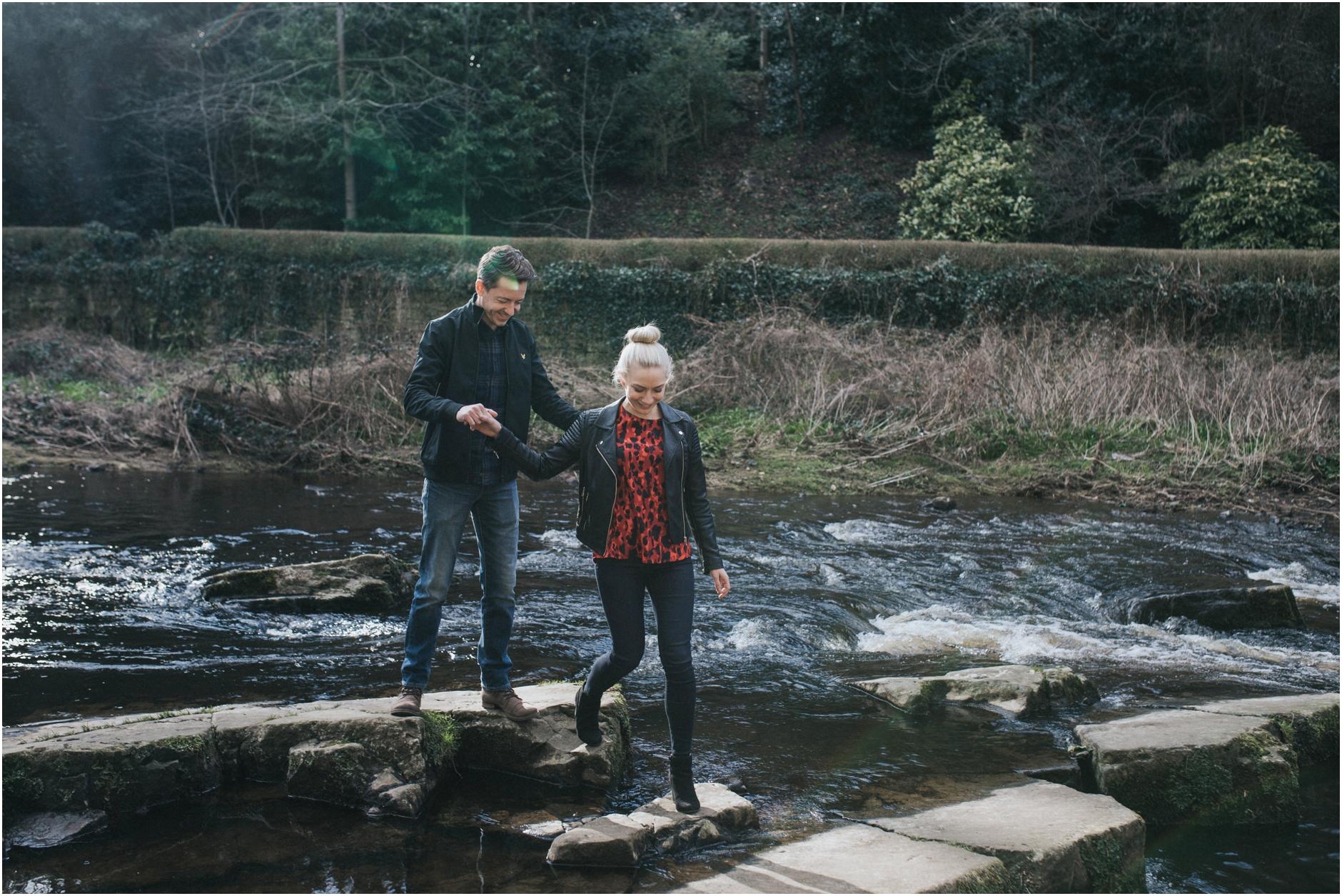 dean village edinburgh wedding engagement photoshoot