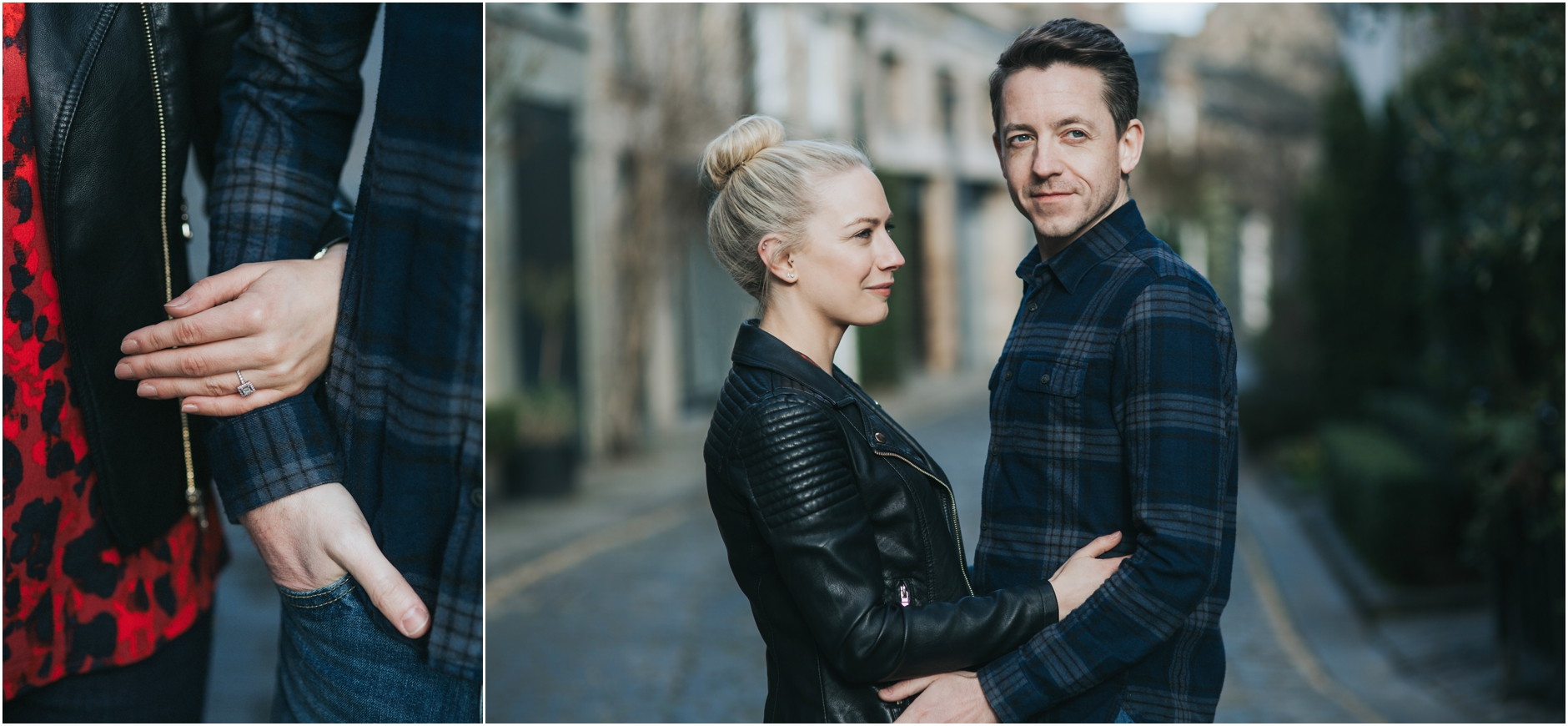 stockbridge engagement photoshoot wedding edinburgh