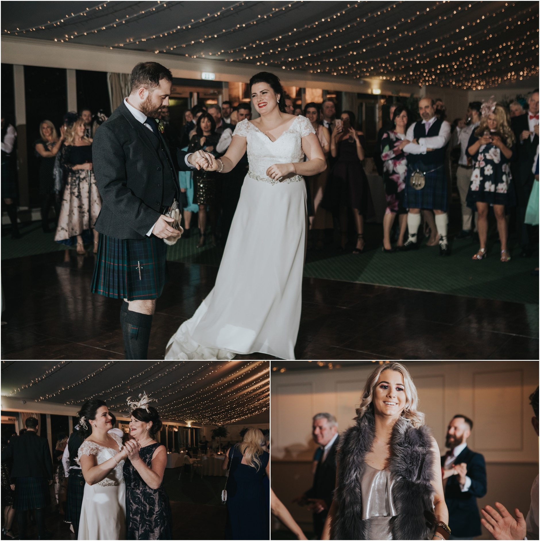 dundas castle wedding winter edinburgh south queensferry