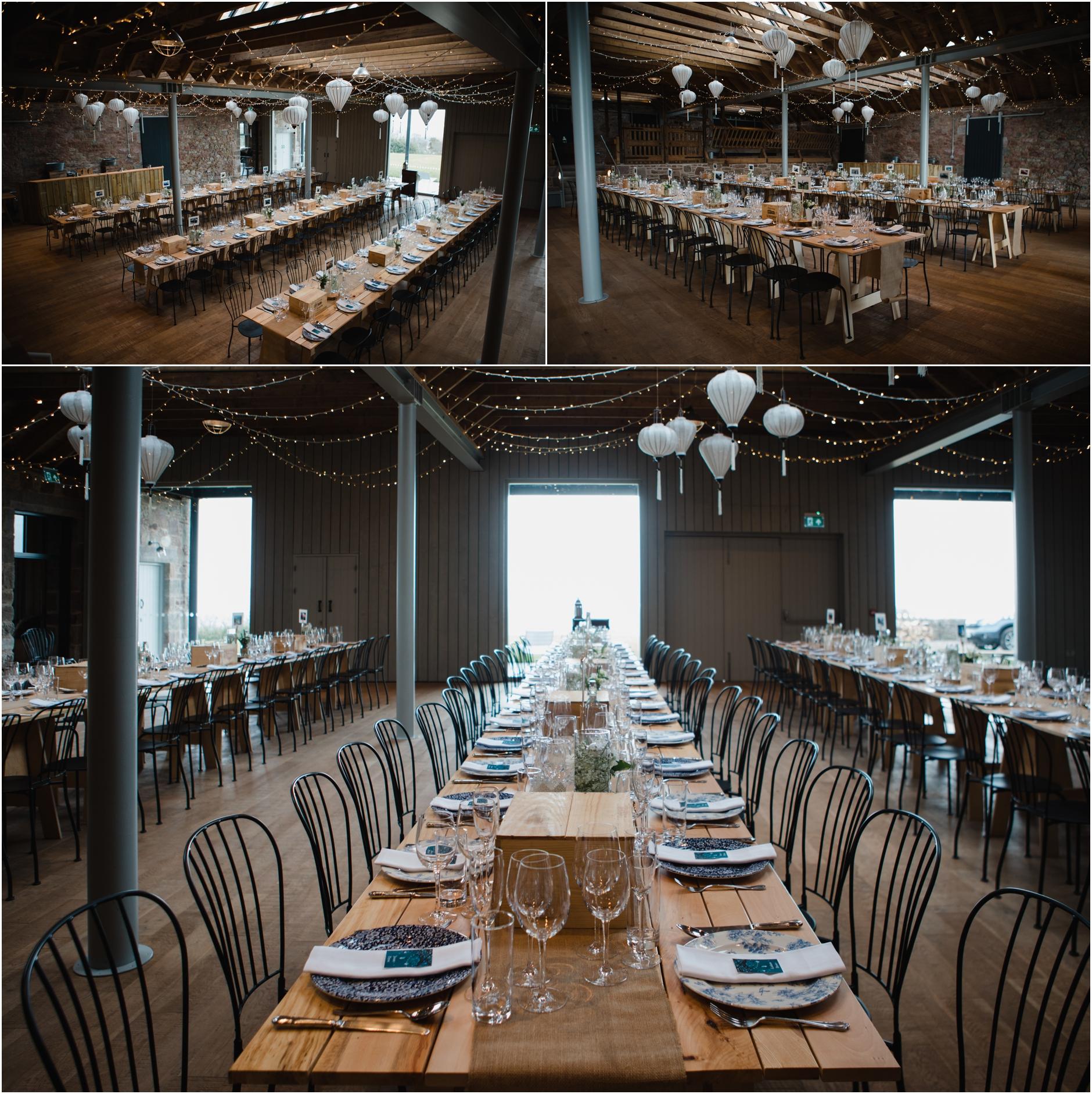 guardswell farm barn wedding scotland
