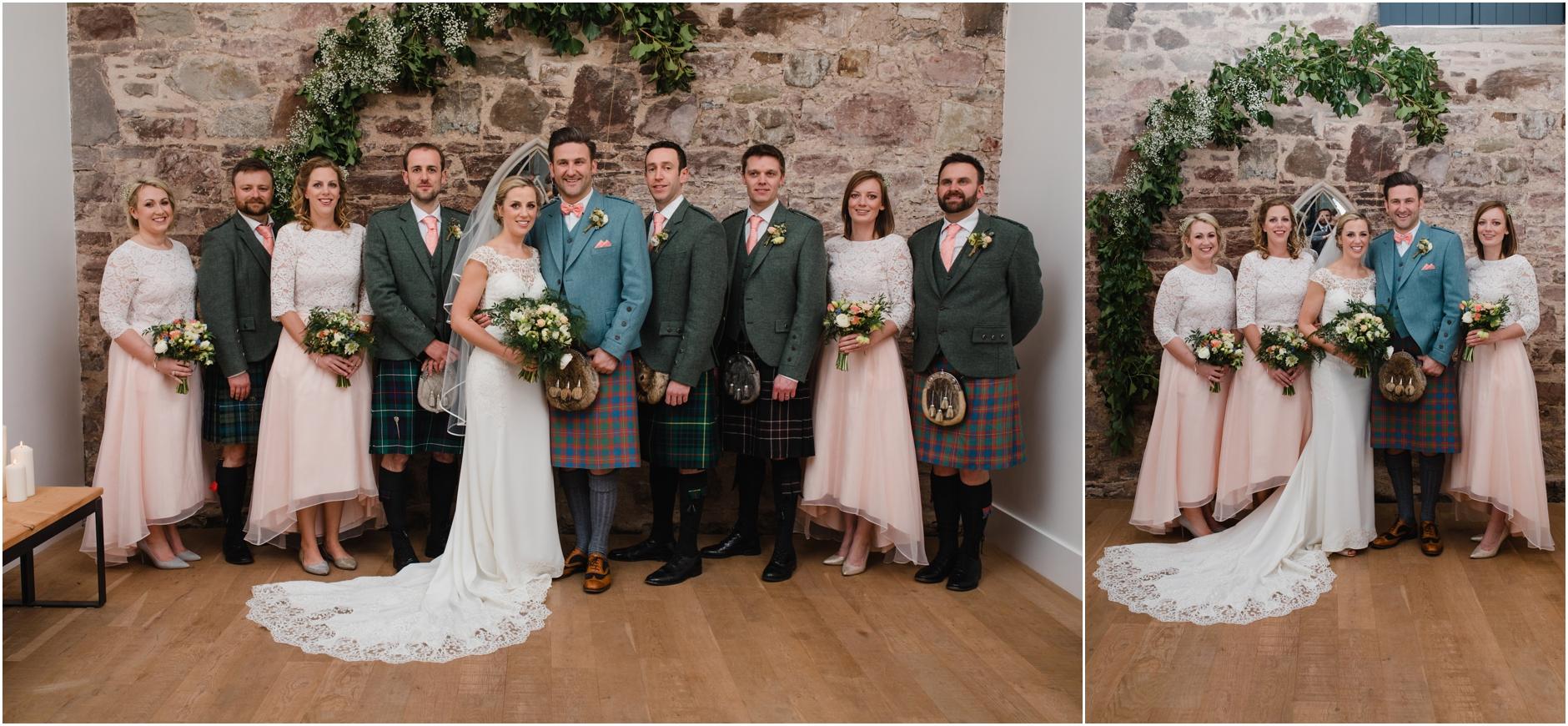 unique barn wedding scotland