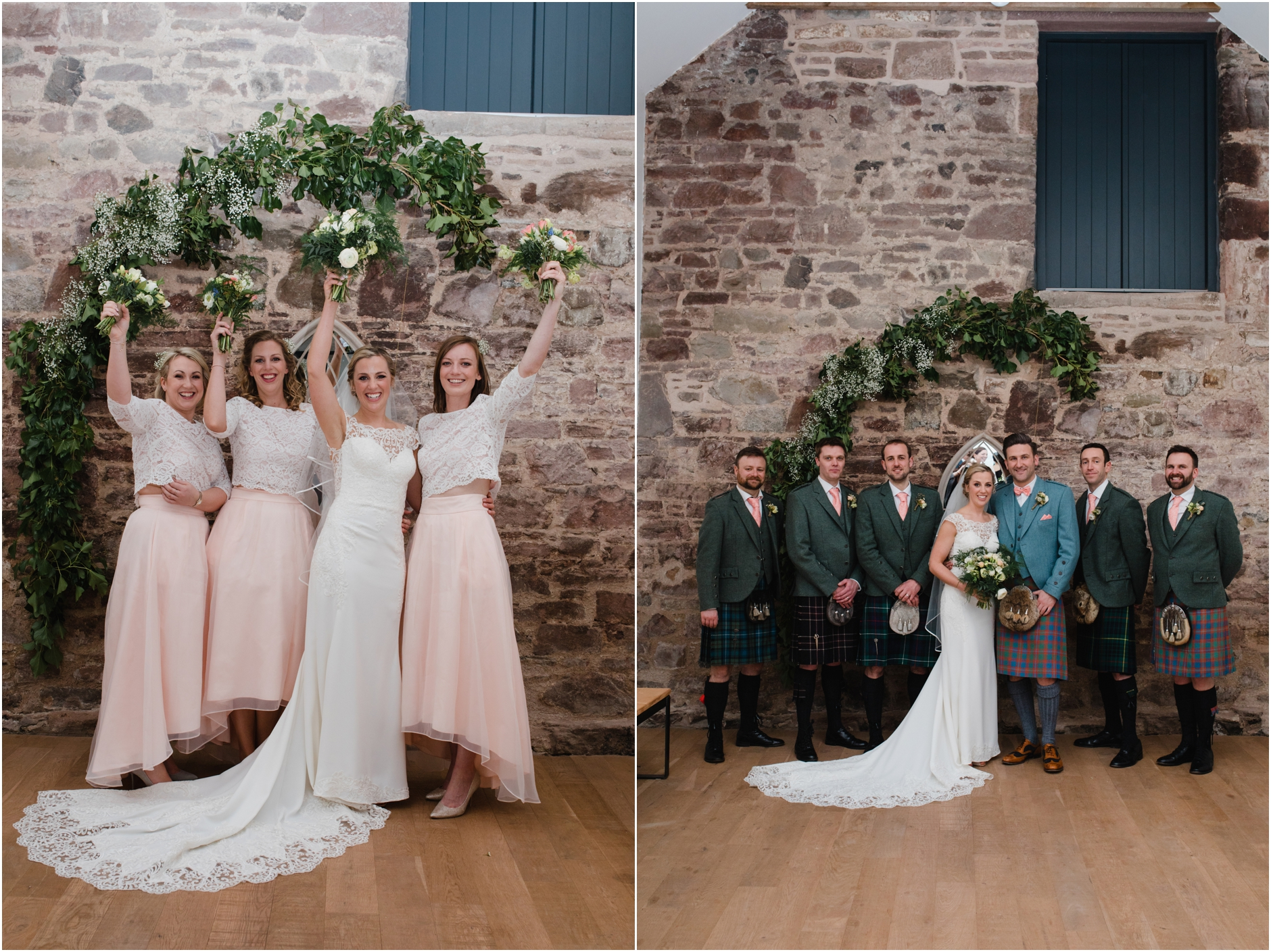 Rustic barn wedding at Guardswell Farm, Perthshire - Shona ...