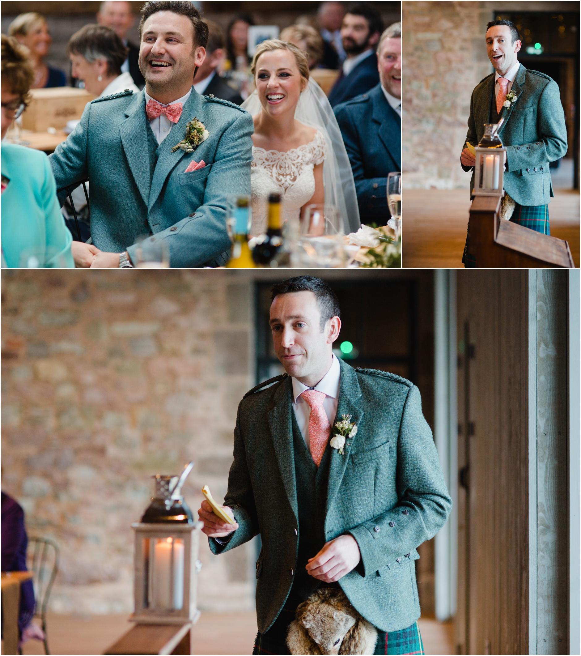 barn wedding photographer scotland