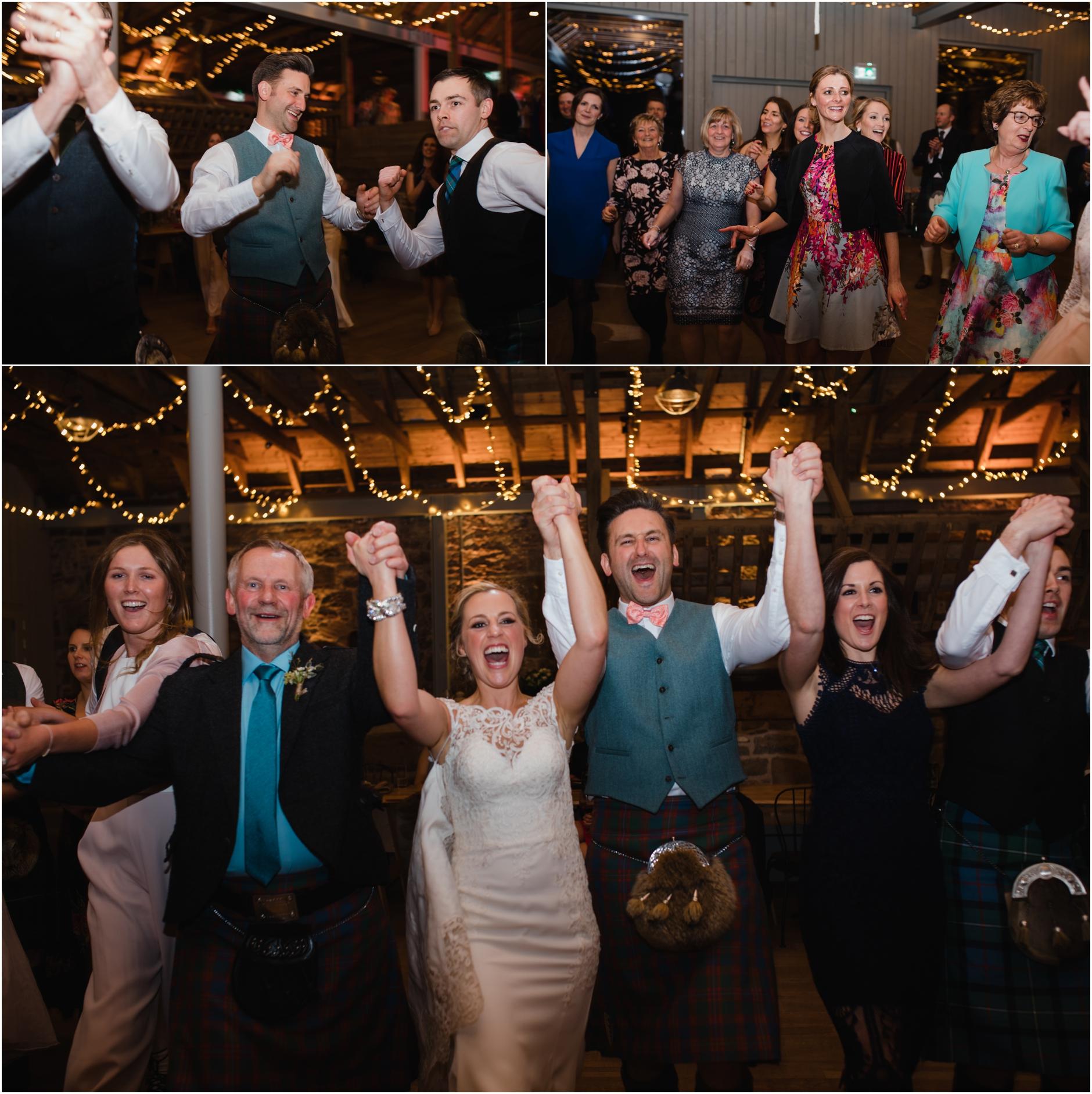 scottish ceilidh wedding photos