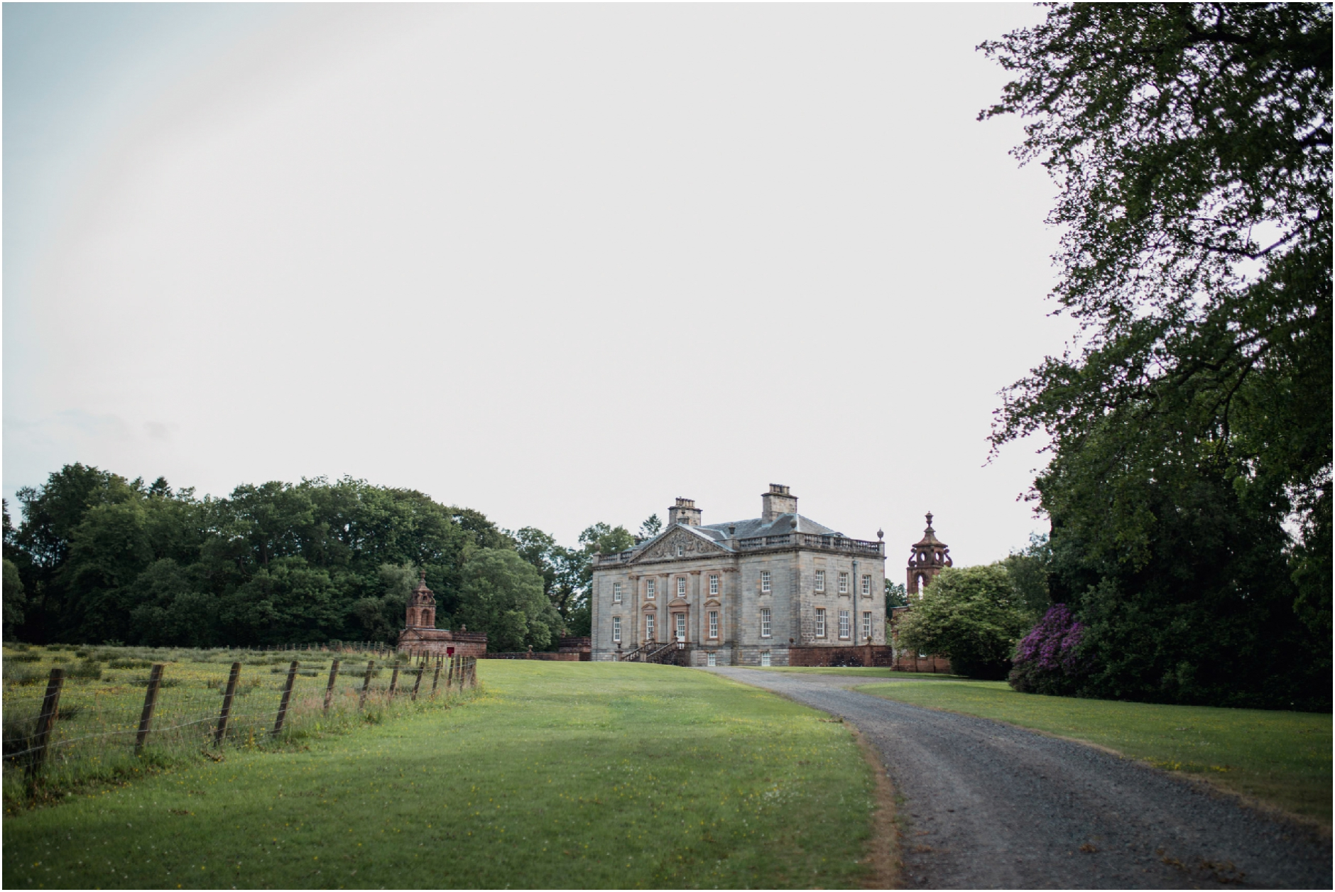 Boswell Coach House, Auchinleck Estate wedding
