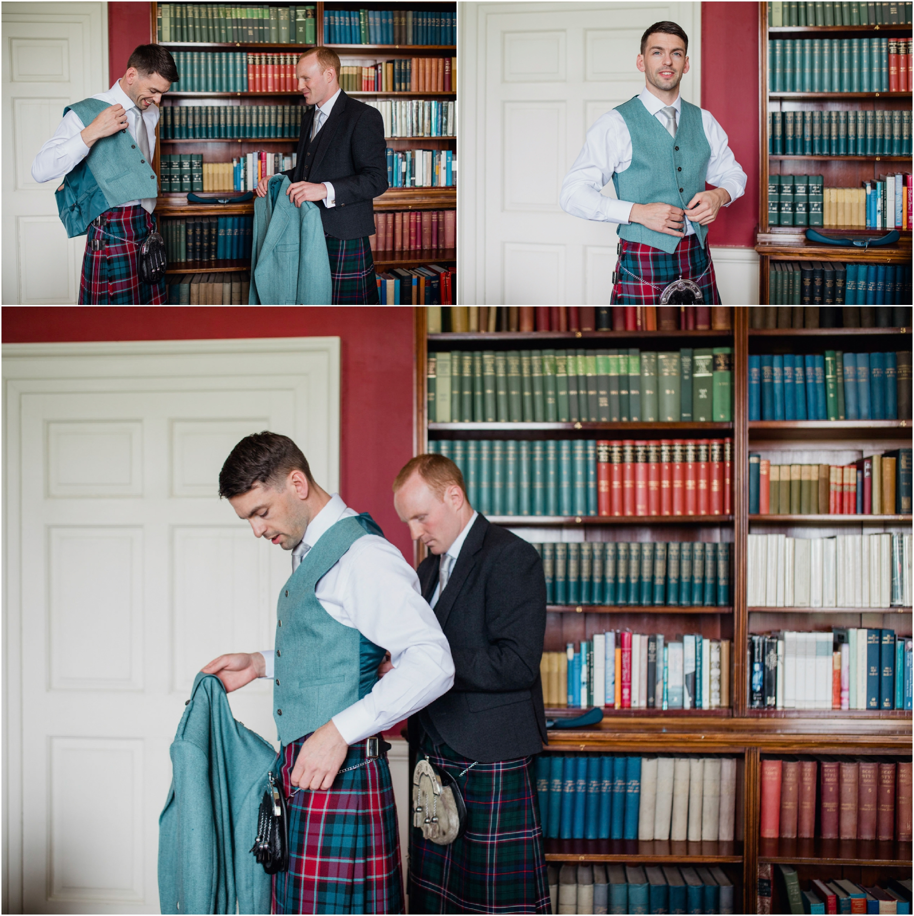 scottish vintage wedding photographer