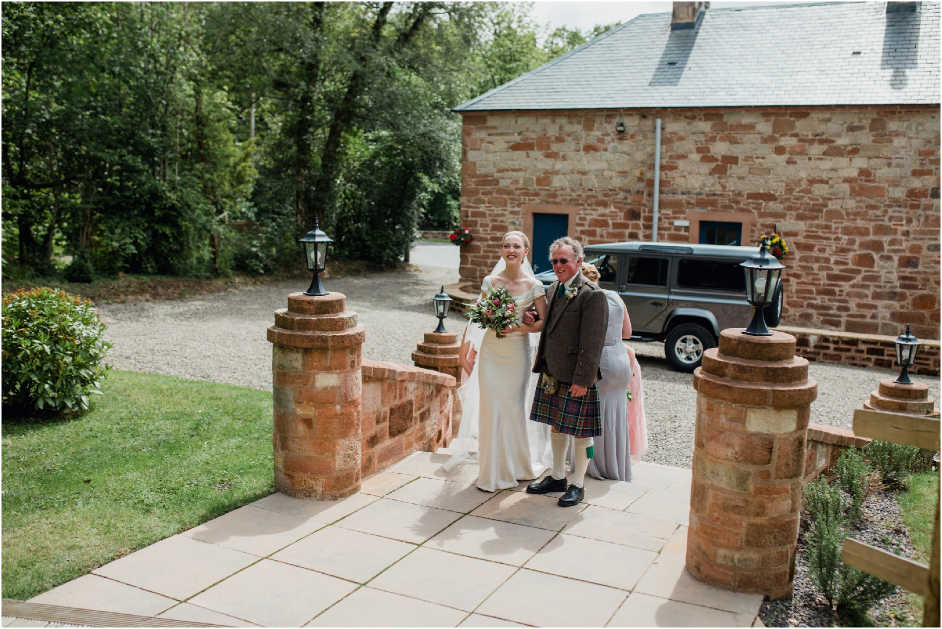 boswell coach house wedding photos