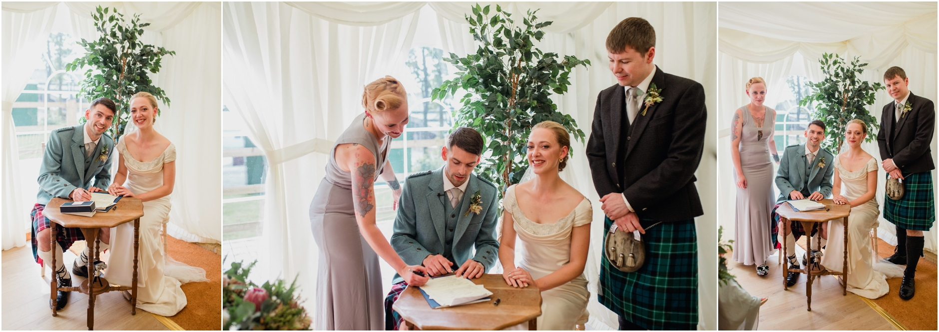 elegant vintage style wedding at boswell coach house ayrshire
