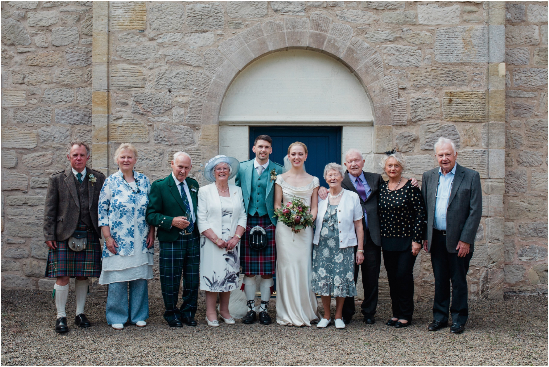 ayrshire wedding at boswell coach house