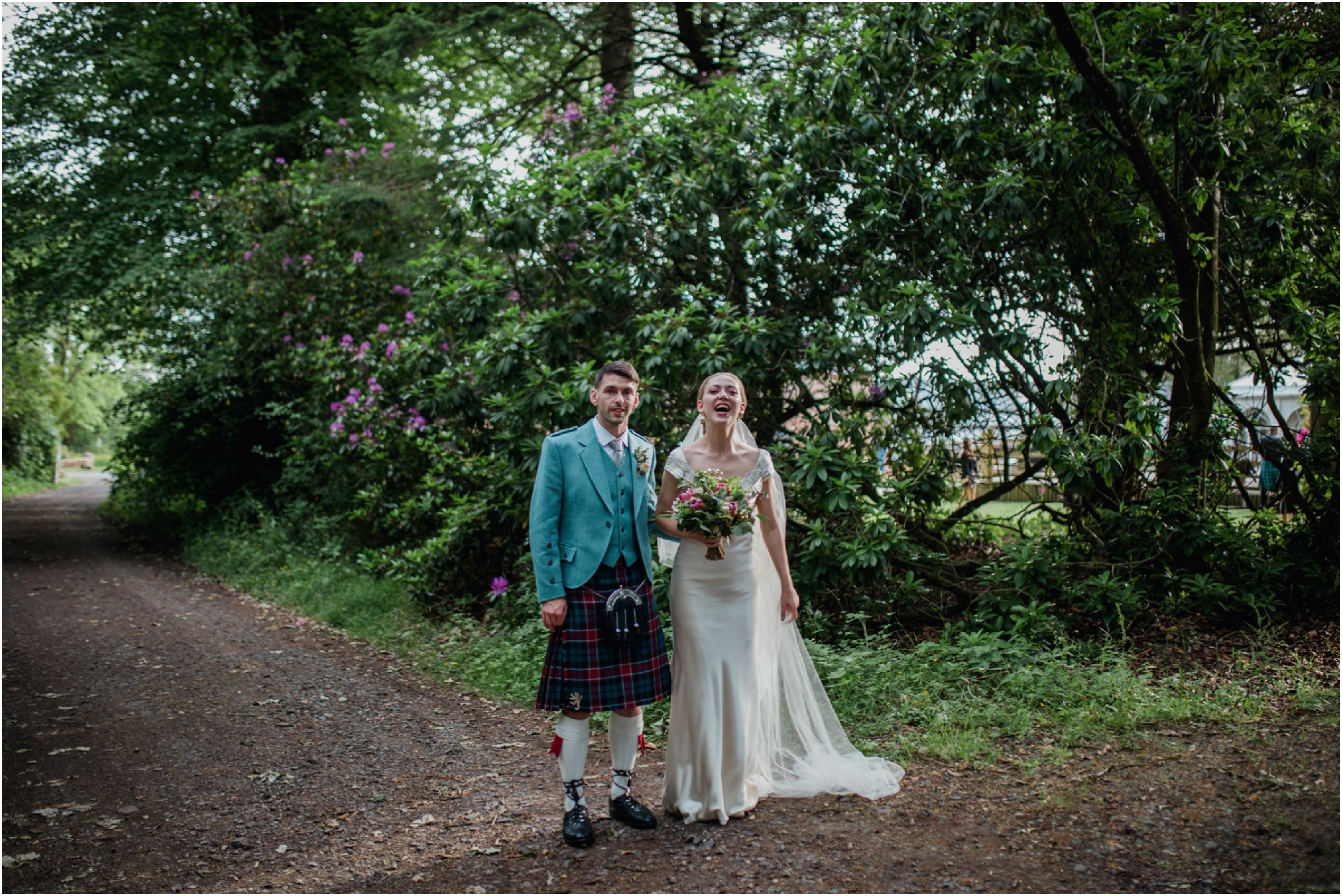 vintage wedding scotland