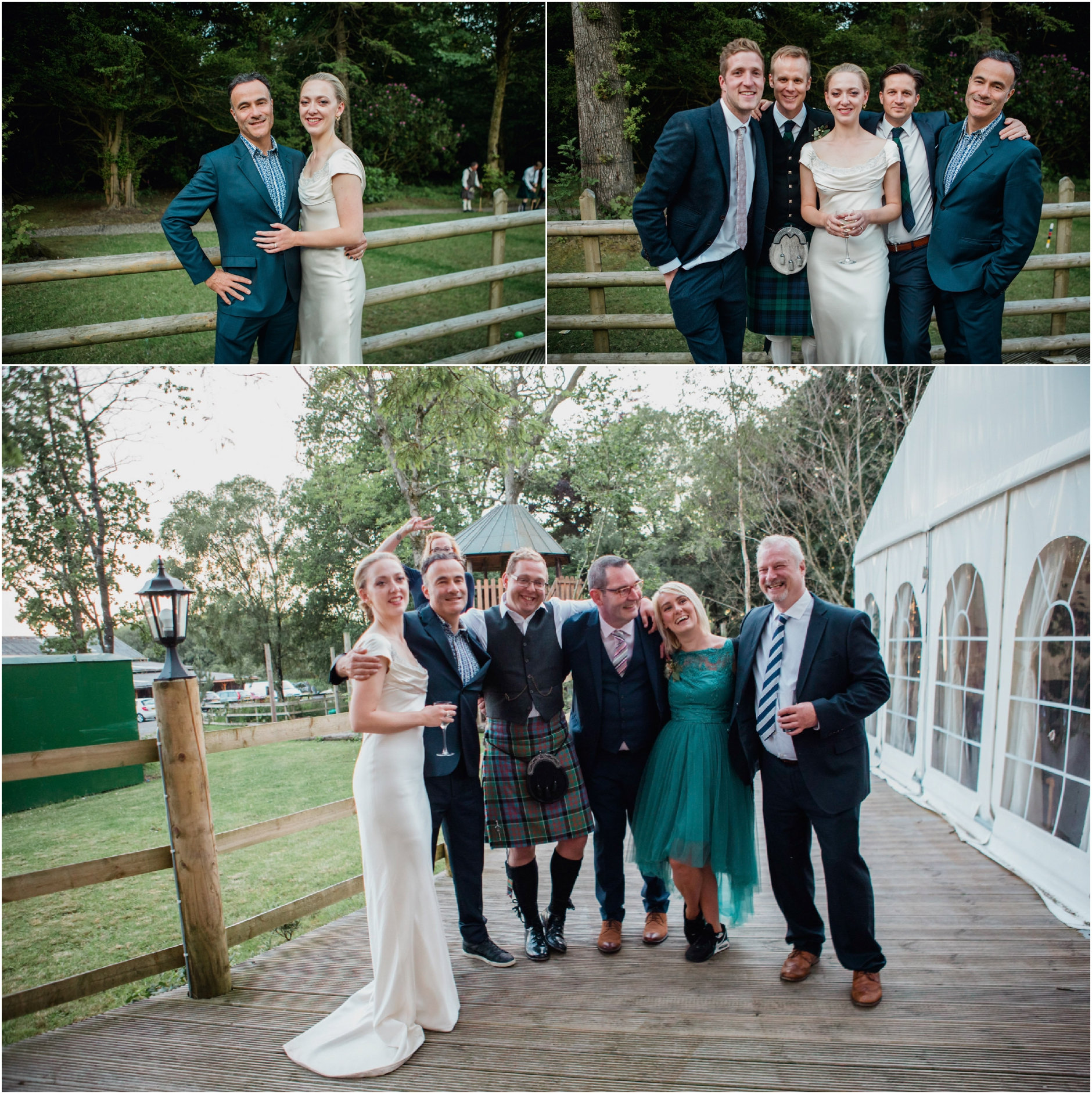 wedding boswell coach house photographer