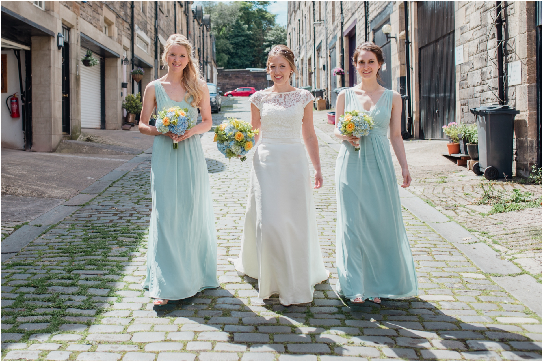 edinburgh  wedding photographer natural