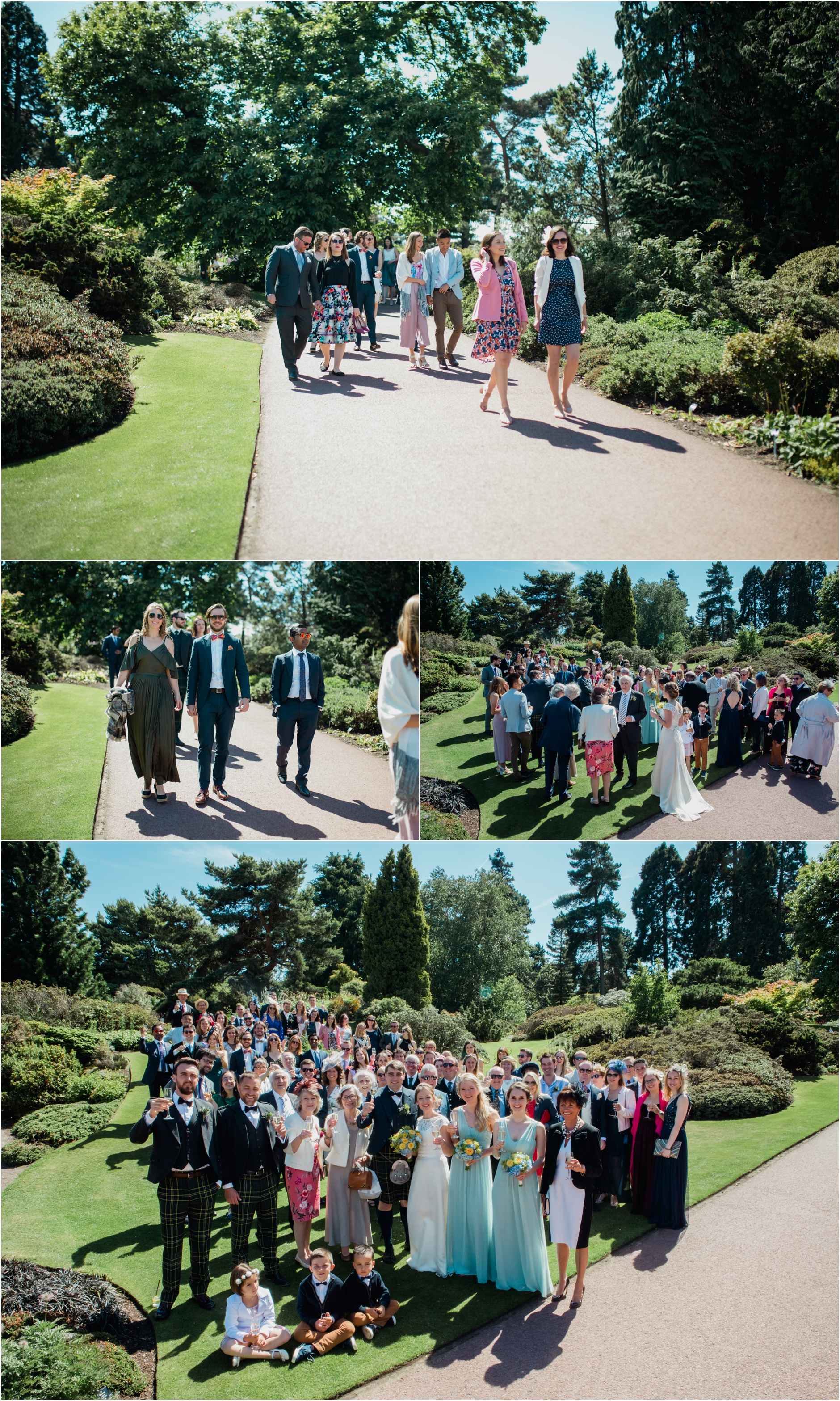 weddings at royal botanical gardens edinburgh