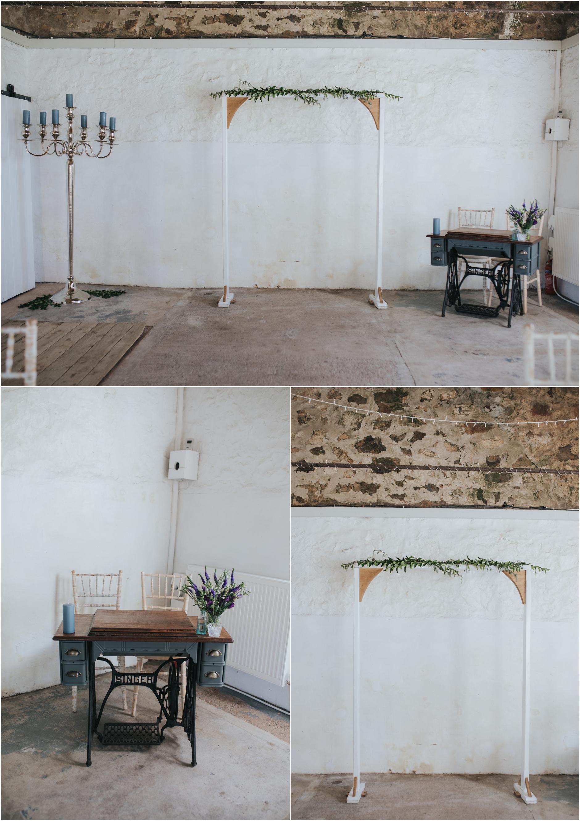 rustic barn wedding scotland
