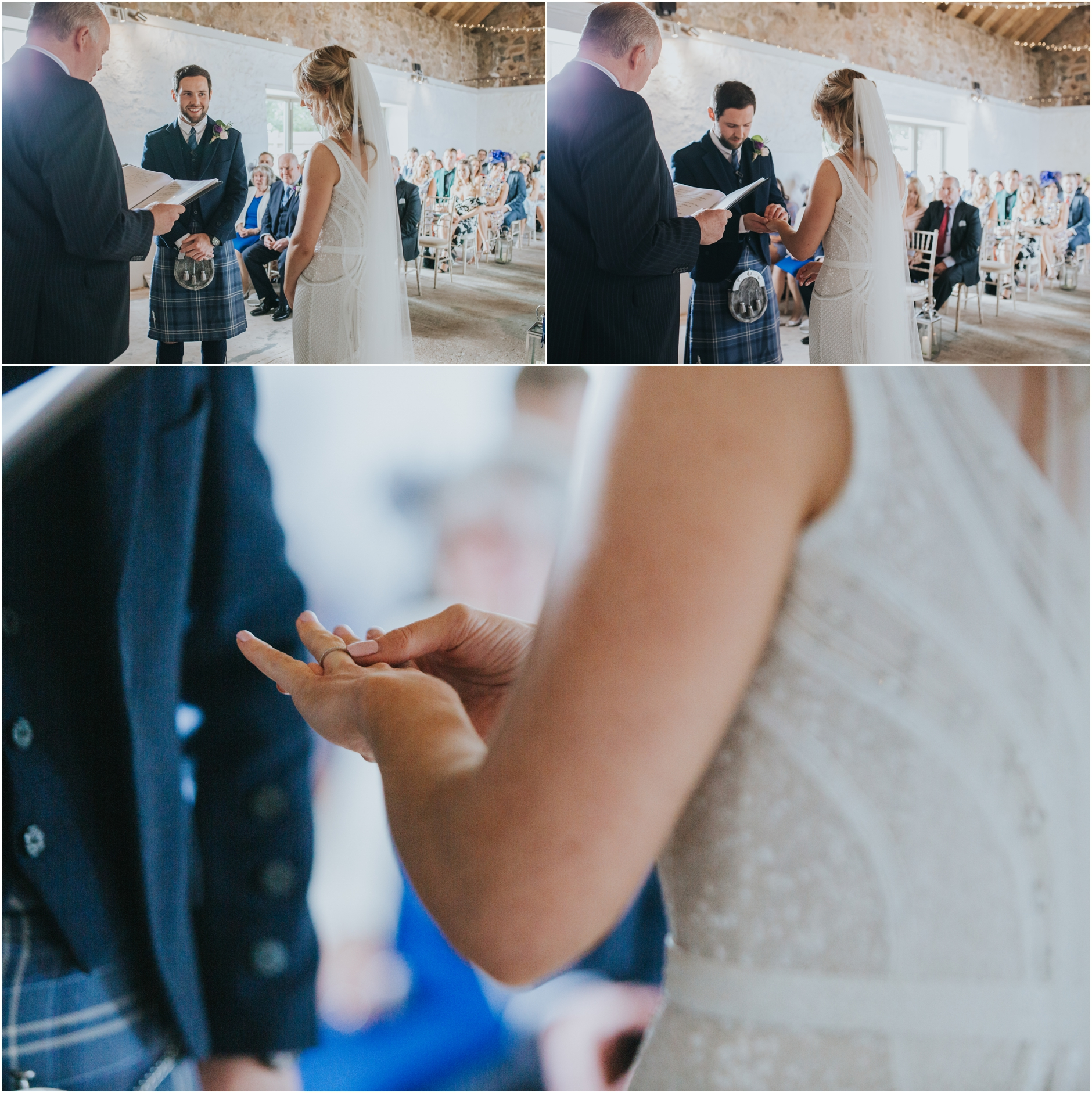 cowshed crail wedding photos