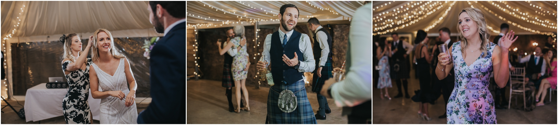 cow shed crail wedding photographer